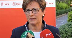 Adriana Valverde, candidata del PSOE a la alcaldía de Almería.