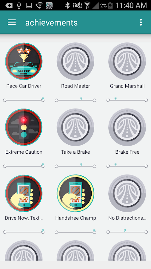 DriveWell- screenshot