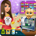 My Little Pet Shop Cash Register Cashier Games icon