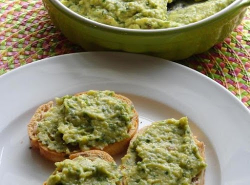 """Roasted Garlic Cilantro Jalapeno Hummus """"Just enough bite in the spiciness and..."""
