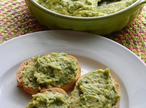 "Roasted Garlic Cilantro Jalapeno Hummus ""Just enough bite in the spiciness and..."