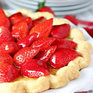 Strawberry Buttermilk Pie.