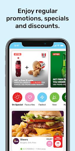 Mr D Food - delivery & takeaway 4.6.4 screenshots 3