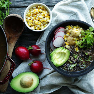 Black Bean Soup Recipe with Chicken and Masa Dumplings