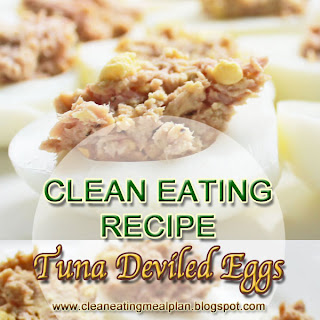 Tuna Deviled Eggs