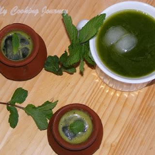 Mint Juice / Pudina Sherbet Recipe