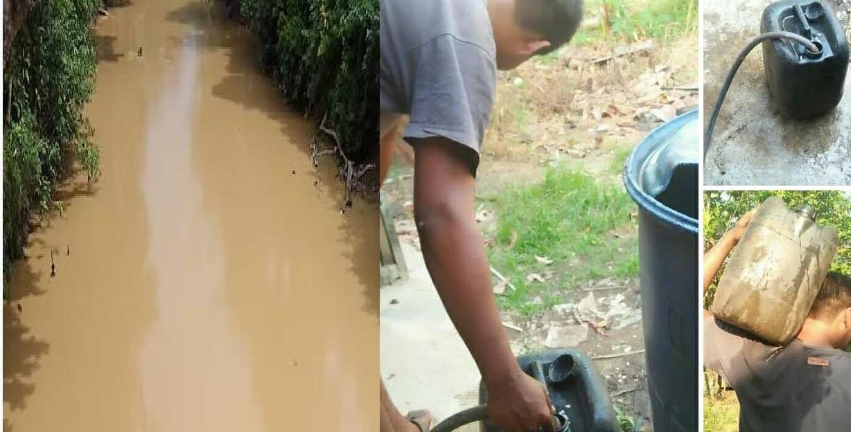 Kemarau Baru 2 Bulan Desa Karangan Mengalami Kekeringan, Bupati Landak Mohon Bantuan Air Bersih