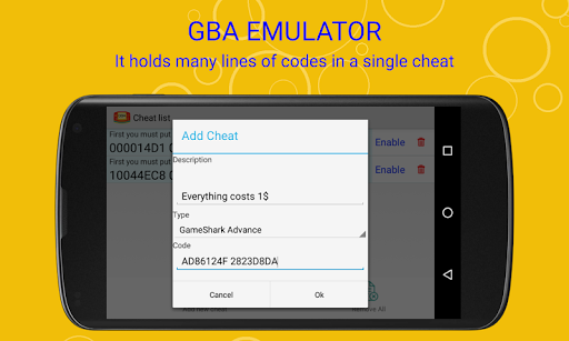 vinaboy advance - gba emulator screenshot 3