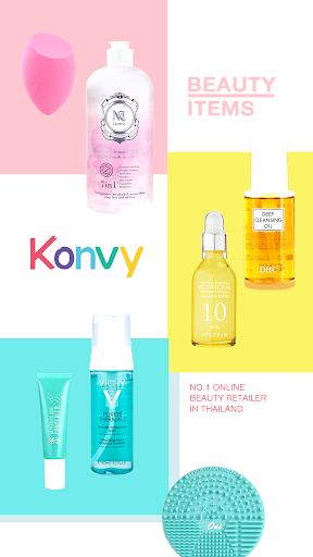 Konvy-Cosmetic Shopping 4.4.8 screenshots 1
