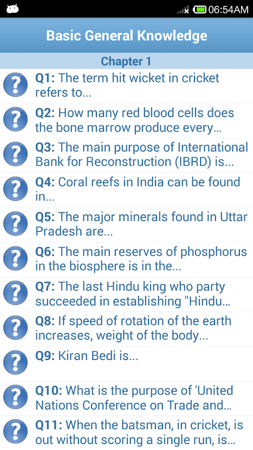 General Knowledge Quiz-GK 2016 - Android Apps on Google Play