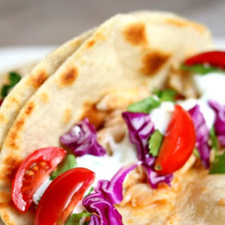 Alaska Cod Fish Tacos with Garlic Lime Sour Cream (slow cooker, instant pot or oven).