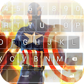Captain America Keyboard Theme
