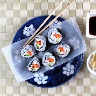 Pressure Cooker Sushi Rice