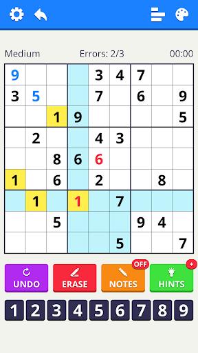 Sudoku 2020 - free classic puzzle game apklade screenshots 2