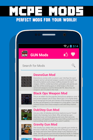 GUN MODS FOR MCPE 1.4.2 screenshot 638881
