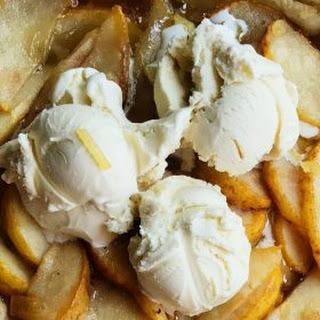 Pear Puff Pastry Dessert.