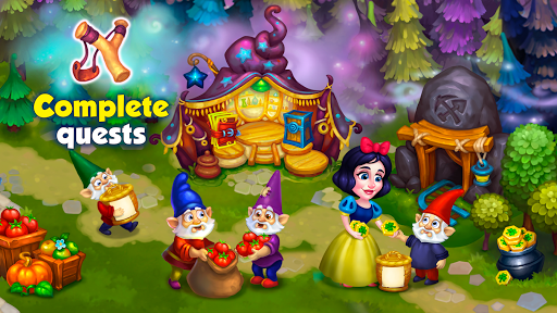 Wonder Valley: Enchanted Farm with Fairy tales android2mod screenshots 18
