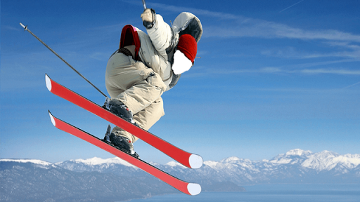 Snow Ski Photo Frames for PC