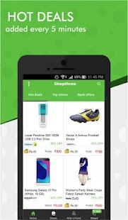 Shopthroo - Earn cash back on hot deals & coupons- screenshot thumbnail