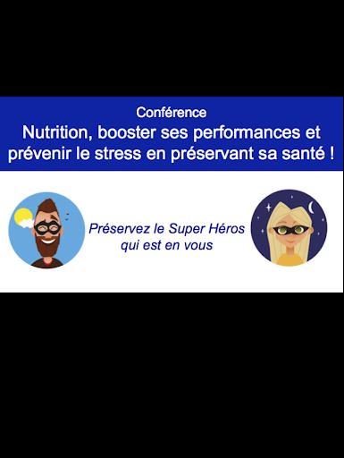 Conférence santé stress