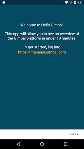 Hello Gimbal