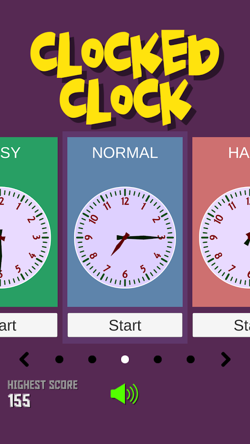 Clocked Clock - Kids learn clock- screenshot