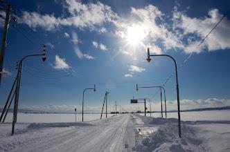 Photo: 北竜町の彩どり・12月の2