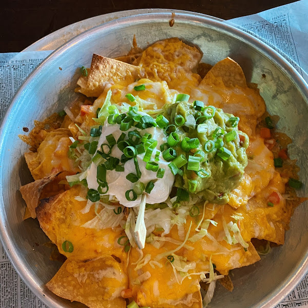 Gluten free nachos