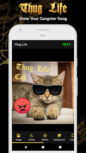 Thug Life Stickers: Pics Editor, Photo Maker, Meme 4.4.96 screenshots 1