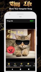 Thug Life Stickers: Pics Editor, Photo Maker, Meme 4.5.43
