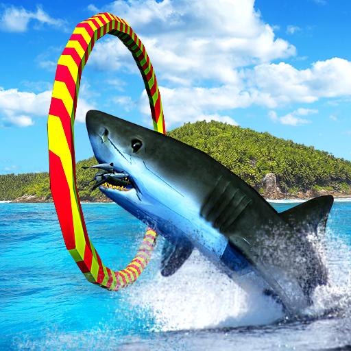 Blue Whale Shark Game 3D