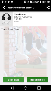 Four Graces Pilates Studio- screenshot thumbnail