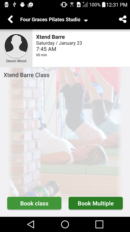 Four Graces Pilates Studio- screenshot