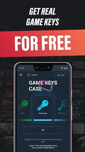 Gamekeys - free Steam keys 1.35 screenshots 1