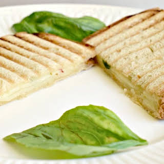 Basil Pepperjack Grilled Cheese.