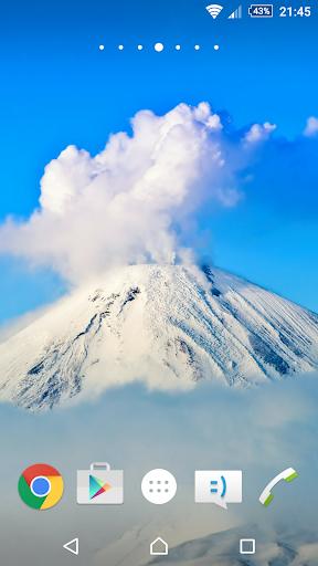 火山の壁紙4K