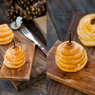 Pears Baked In Pastry