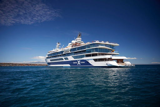The design of Celebrity Flora is purposefully crafted to navigate the waters of the Galapagos Islands that Flora calls home.