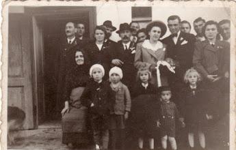 Photo: Nagy Ferenc(1912–1996) és Barthalos Margit (1920-1950) esküvője, 1942