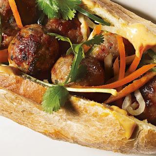 Pork Meatball Banh Mi Recipe