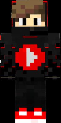Youtuber Skin Nova Skin - Skins para minecraft pe con capa