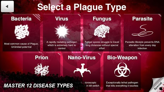 Plague Inc MOD APK 1.18.5 (Unlimited DNA + Full Unlocked 10