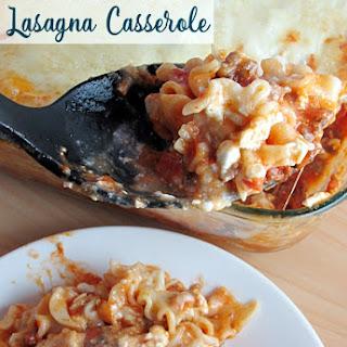 Favorite Lasagna Casserole