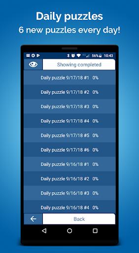 Crossword Puzzle Free screenshots 4