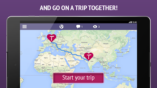 TourBar - Chat, Meet & Travel- screenshot thumbnail