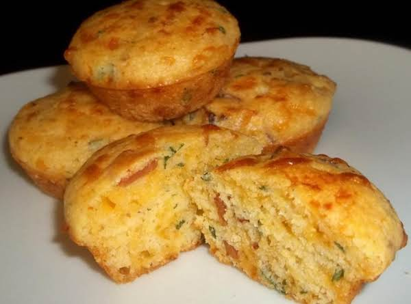 Bacon Cheddar Mini Biscuit Muffins Recipe