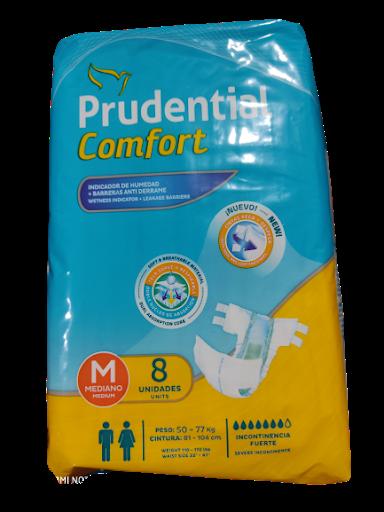 panal incontinencia prudential talla m 8 und