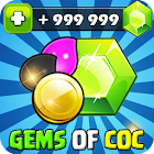 Unlimited Gems For Clash OF Clans Prank! icon