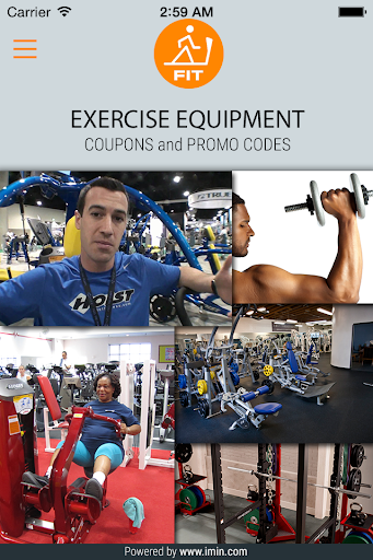 Exercise Equipment Coupon-Imin