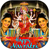 Navratri Photo Frame 2018